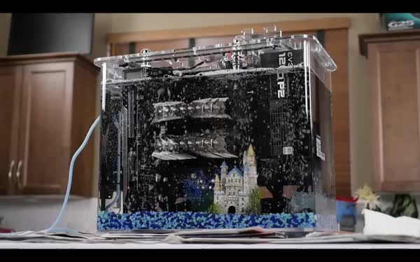 Watch Slow Motion Bubles - Mineral Oil Cooled PC - LinusTechTips GIF by @roars on Gfycat. Discover more LinusTechTips, MineralOilCooledPC, SlowMotionBubles GIFs on Gfycat