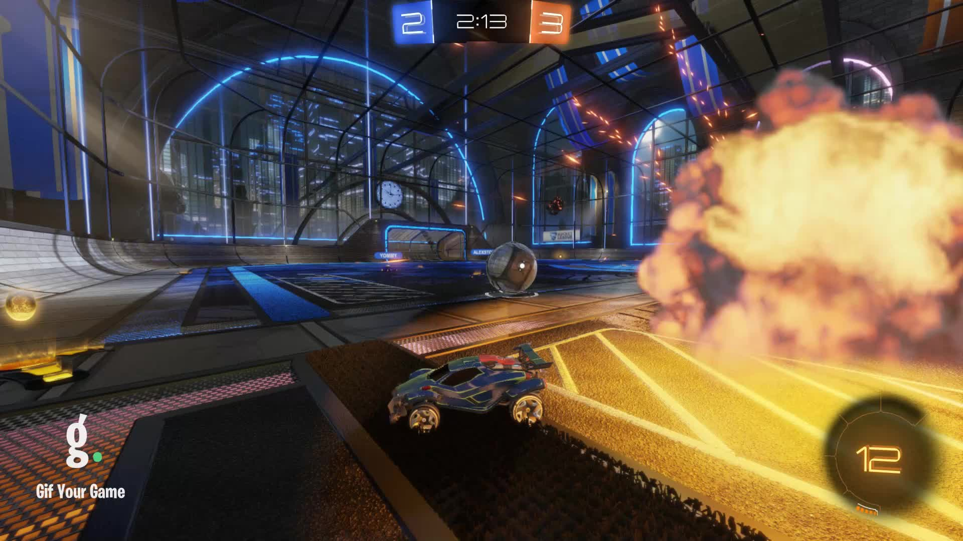 Gif Your Game, GifYourGame, Goal, ItWas...Justified, Rocket League, RocketLeague, Goal 6: ItWas...Justified GIFs