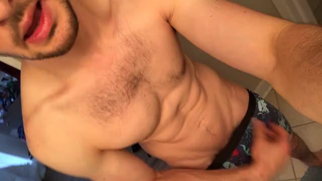 so horny post-gym