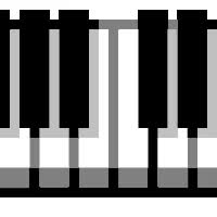 Watch and share Piano animated stickers on Gfycat