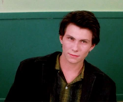 Watch and share Christian Slater GIFs and Cafeteria GIFs on Gfycat