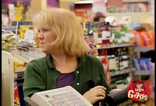 Watch and share Epic Old Man - Senile Cashier Prank GIFs on Gfycat