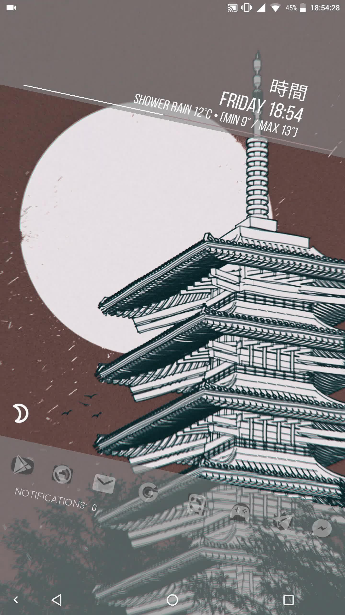 androidthemes, Kyoto GIFs