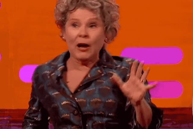 Watch and share Imelda Staunton GIFs and Scared GIFs by Reactions on Gfycat