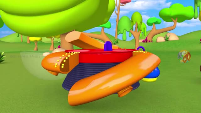 Watch and share Funny Monkey Travel On UFO Time Machine 3D Cartoon For Children - Forest And Zoo Animals Videos GIFs by kids animal family on Gfycat