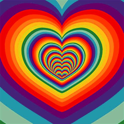 color, colors, rainbow, rainbow colors, rainbows, Rainbow GIF - GIFs