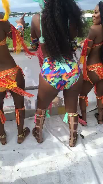 berniceburgos, Carnival Twerking (reddit) GIFs