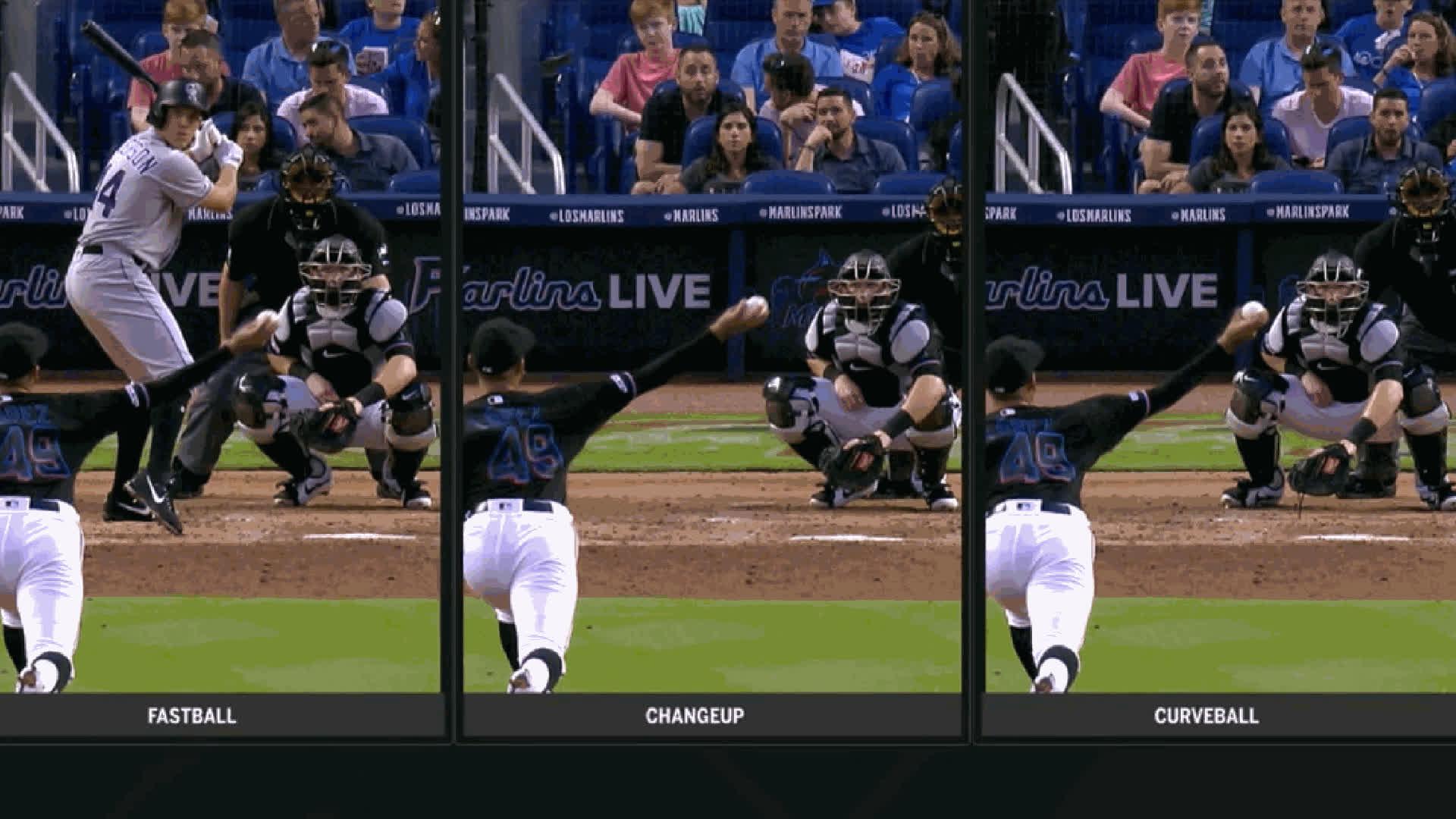 baseball, Pablo Lopez-ArmAngle-ReleasePoint GIFs