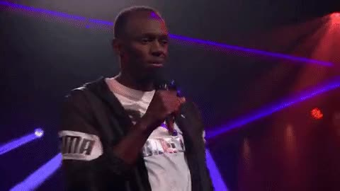 Watch and share Gallery Usain Bolt James Corden Drop The Mic GIFs on Gfycat