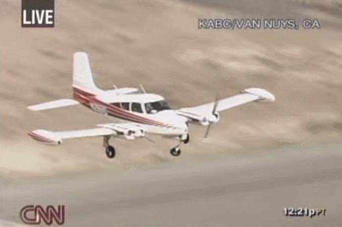 aviationgifs, nailedthelanding, Nigh-On perfect landing with broken nose gear (reddit) GIFs