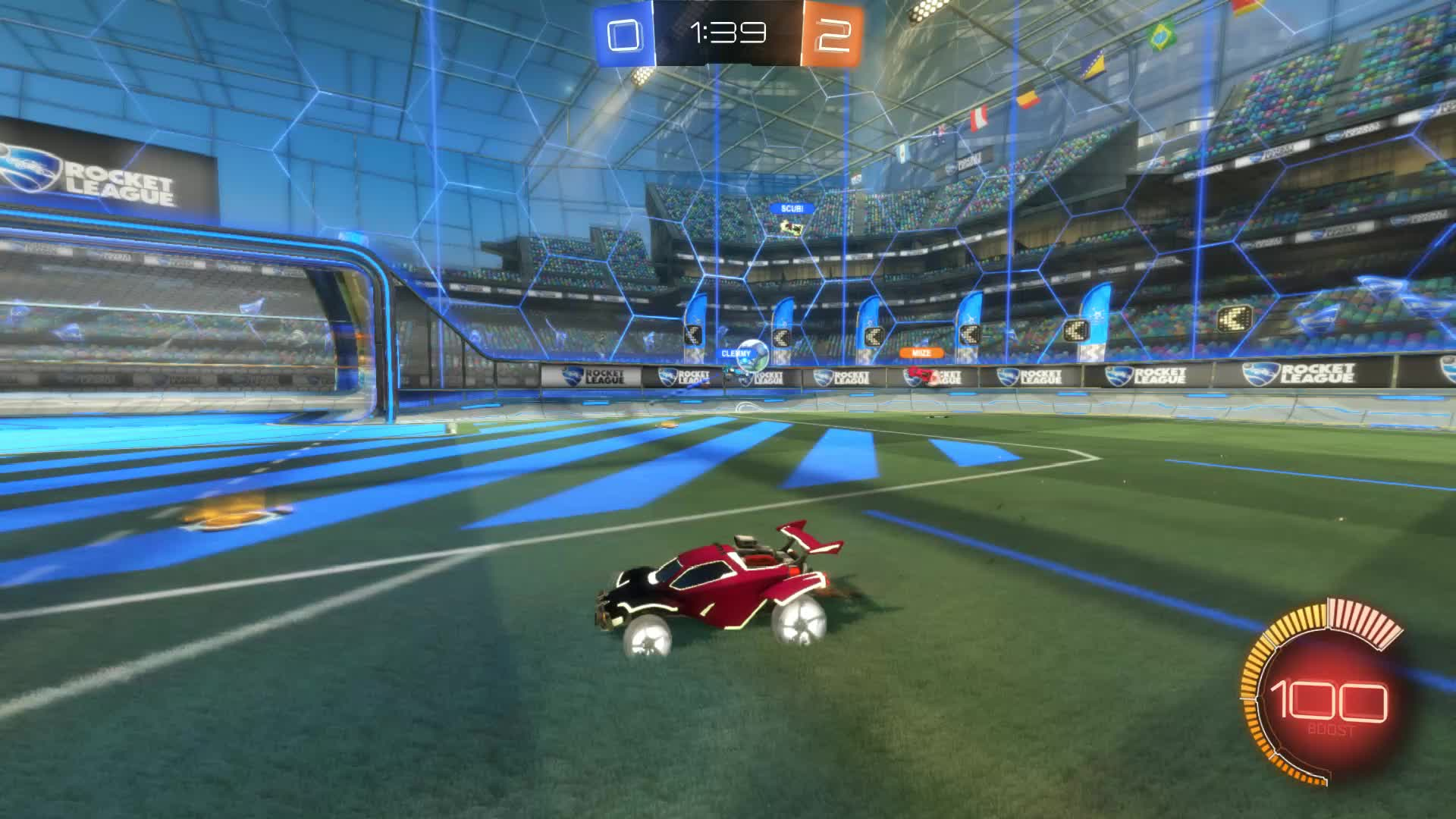 Assist, Gif Your Game, GifYourGame, Rocket League, RocketLeague, Trip, Assist 2: Trip GIFs