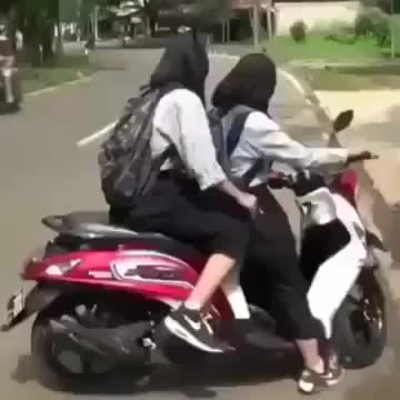 Watch Accident with Burka Helmets! WTF! GIF on Gfycat. Discover more whatcouldgowrong GIFs on Gfycat