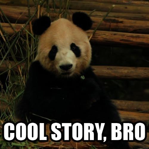 cool bro, cool story, cool story bro, panda, Cool Story Bro Panda GIFs