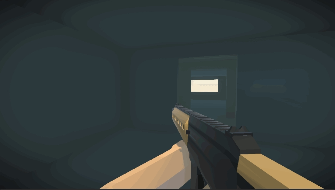 LowPoly, Unity3d, WeaponSystem, Unity3d Weapon System GIFs
