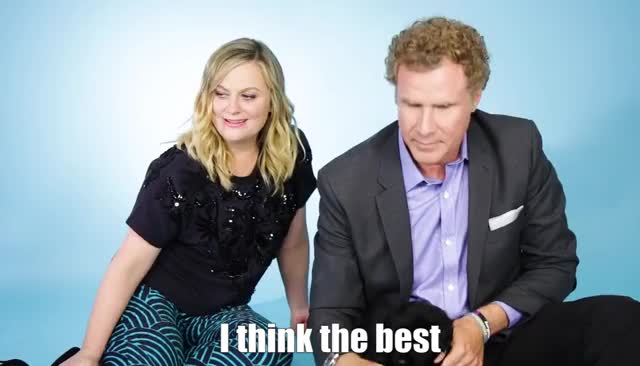 Watch and share Will Ferrell GIFs and Amy Poehler GIFs by Reactions on Gfycat