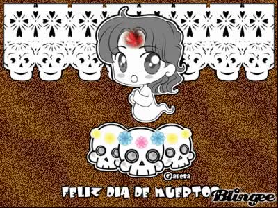 Watch and share Feliz Día De Muertos GIFs on Gfycat