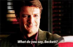 Watch and share Castle Au GIFs and Beckett GIFs on Gfycat