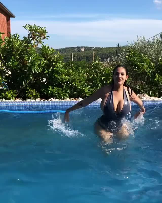 Watch and share Busty-pool GIFs by Pandesia World on Gfycat