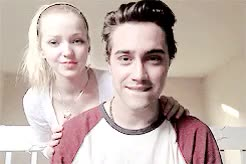 Watch and share Ryan Mccartan GIFs and Dove Cameron GIFs on Gfycat