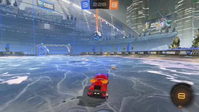 Watch Destroyed this man GIF by BraidedAxe (@braidedaxe) on Gfycat. Discover more RocketLeague, destructrion, fake, goal GIFs on Gfycat