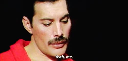 Watch and share Freddie Mercury GIFs on Gfycat