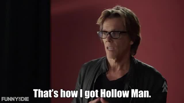 Watch Hollow Man Glasses GIF by Funny Or Die (@funnyordie) on Gfycat. Discover more FunnyOrDie, fod, funny or die, ▶ Intro To Acting with Kevin Bacon GIFs on Gfycat