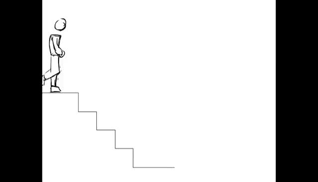 Watch and share Walking Down Stairs GIFs on Gfycat