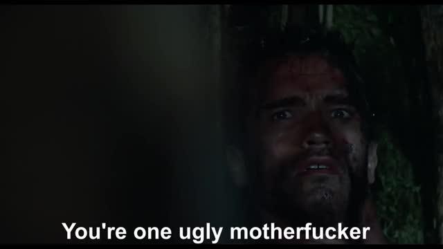 Watch and share You're One Ugly Motherfucker! - Predator Vs Dutch - Fight Scene - Predator (1987) Movie Clip HD GIFs by TrekkieWhovian on Gfycat