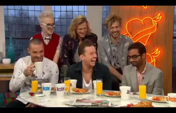 Mcbusted @ Sunday Brunch 2014 GIFs