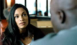 Watch and share Rosario Dawson GIFs and Luke Cage GIFs on Gfycat