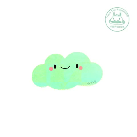 Watch hi :) GIF on Gfycat. Discover more Illustration, Y.T.R, animation, artist on tumblr, cloud, cute, doodle, drawing, experiment, gif, happy, kawaii, loop, mint, motion graphics, pastel, texture, yoyo the ricecorpse GIFs on Gfycat