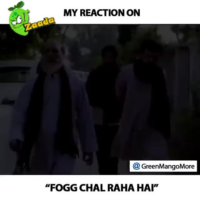 "Watch Reaction on ""Fogg Chal raha hai"" 