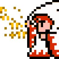 Watch and share White Mage Sprite FF animated stickers on Gfycat