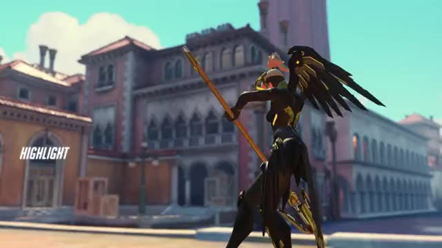 Watch sym 18-09-09 06-56-18 GIF by Lux (@pekoes) on Gfycat. Discover more highlight, mercy, overwatch GIFs on Gfycat