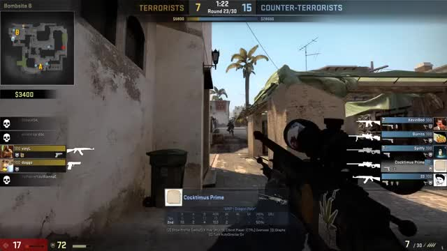 "Watch ""I'm only nutty against my friends"" (reddit) GIF on Gfycat. Discover more GlobalOffensive GIFs on Gfycat"