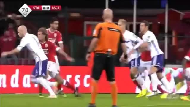 Watch and share Lukasz Teodorczyk Goal ● Standard De Liege 0:1 RSC Anderlecht ● Belgium Jupiler League 02/10/2016 GIFs on Gfycat