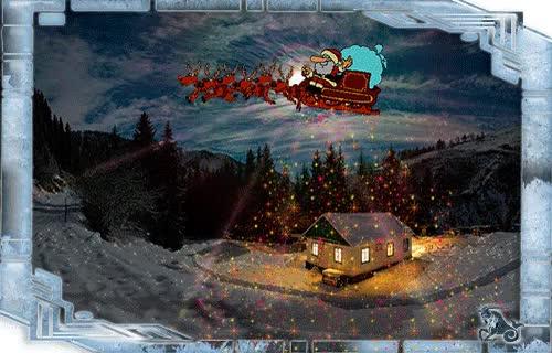 Watch and share Анимации, Анимашки Дед Мороз animated stickers on Gfycat