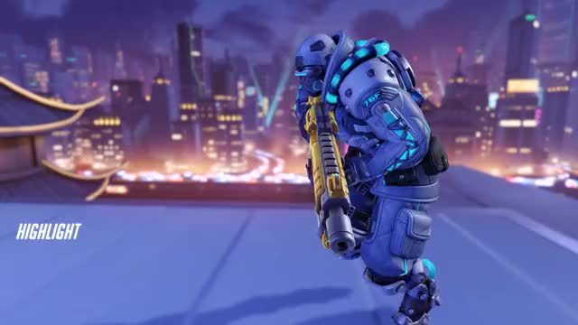 Watch and share Soldier 76 GIFs and Overwatch GIFs by Xanatos on Gfycat