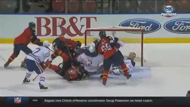 edmontonoilers, hockey, Talbot save last minutes GIFs