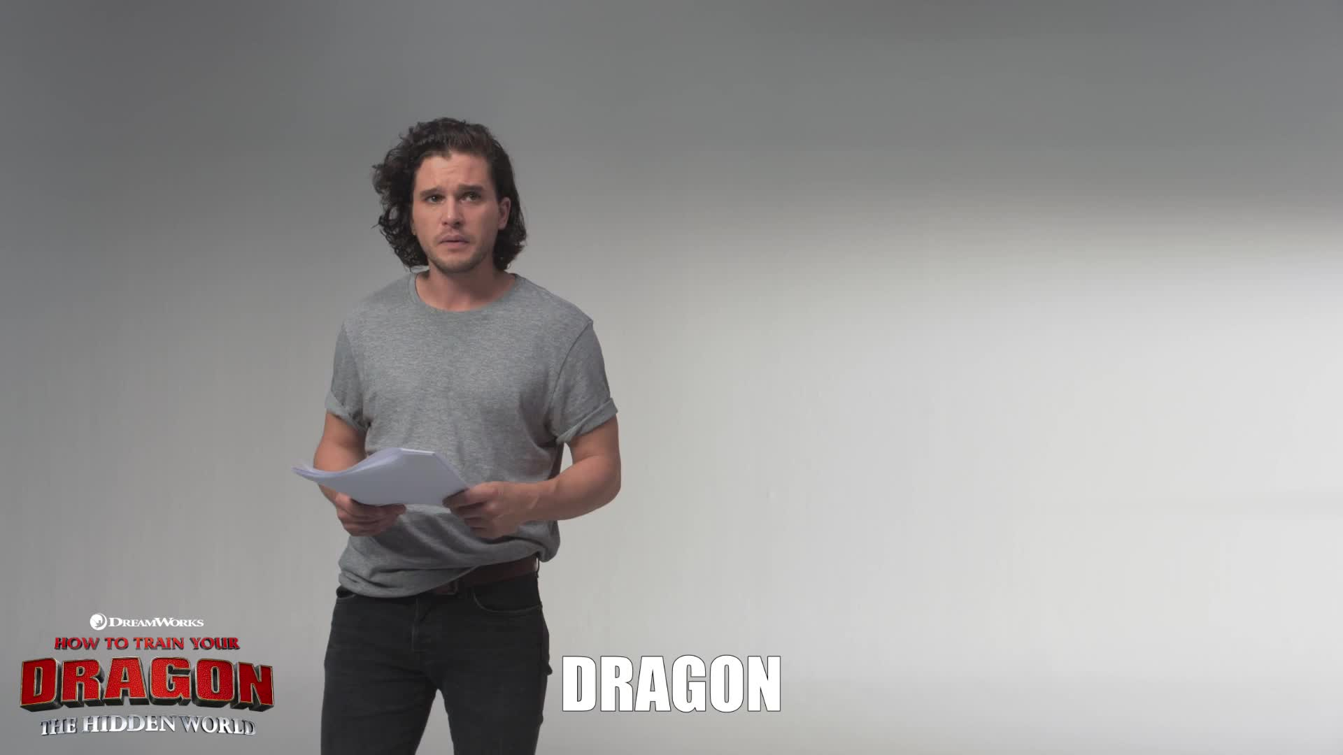 funny, how to train your dragon, how to train your dragon the hidden world, httyd, httyd3, kit harington, prank, toothless, Show Yourself Kit and Toothless Scene GIFs