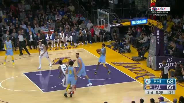 Watch and share Lonzo Bricks Two Threes In Rapid Succession GIFs on Gfycat
