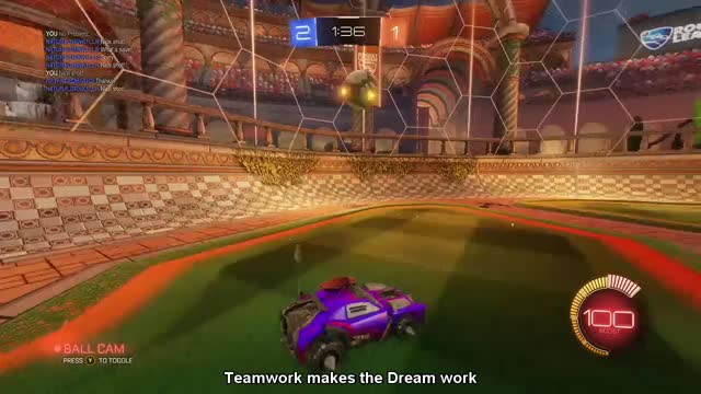 Watch Team work makes the dream work GIF by @djflyiik on Gfycat. Discover more Rocket League, rocketleague, xboxone GIFs on Gfycat