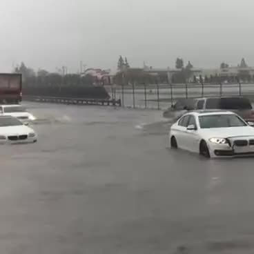 Watch and share Audi Quattro VS BMW In The Rain GIFs on Gfycat