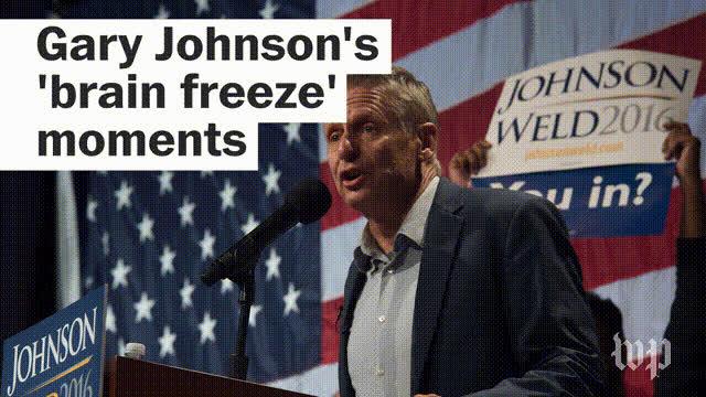 gary johnson, libertarian,  GIFs