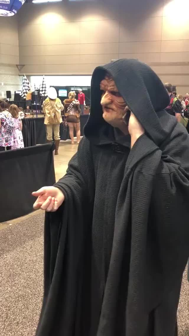 Watch and share Palpatine GIFs by Nick Dardano on Gfycat