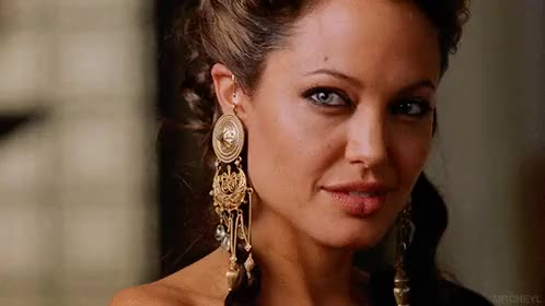 Watch this angelina jolie GIF on Gfycat. Discover more 2004, Alexander, alexander, angelina jolie, celebs, gif, history, mom, movie, olimpiade GIFs on Gfycat