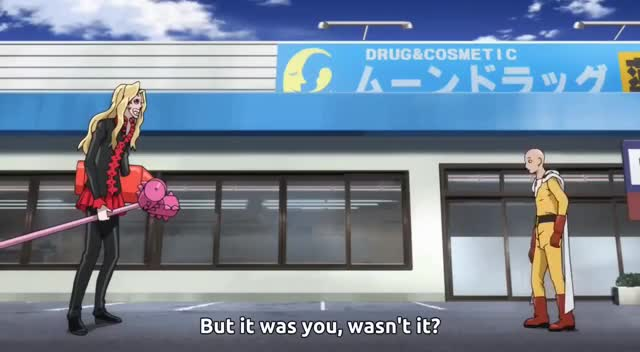 Watch Saitama Gets Mad For Someone Stealing His French Fries | Genos Stalking Saitama to know hi GIF on Gfycat. Discover more OPM, english, man, one, punch, season GIFs on Gfycat