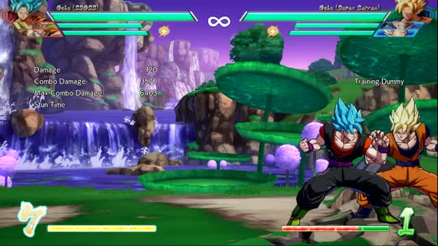 Watch Optimal 5M corner BnB starter GIF by Jordan B (@jball_2k) on Gfycat. Discover more DBFZ, Goku Blue GIFs on Gfycat