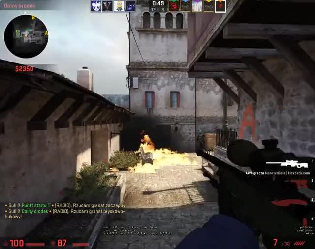 Watch and share Watch Suli107's Counter-Strike: Global Offensive Video: Óratofałęm Cje Ziomeg - Plays.tv GIFs on Gfycat
