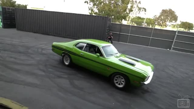 Watch 1971 Dodge Demon GIF on Gfycat. Discover more related GIFs on Gfycat